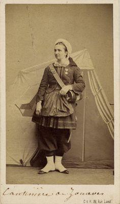 Crimean War era (French) cantiniere. Brown University.