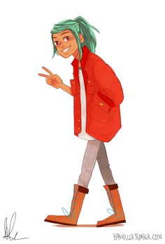 Alex from the game Oxenfree! I actually really enjoyed that game, it was pretty cool ~