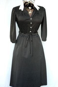 1970's Secretary Dress by Chipper California by CoziDivaBoutique, $15.00