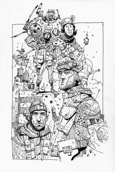 Sketchbook: Yet more doodles.