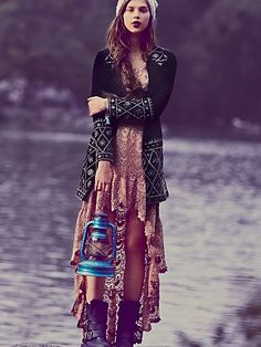 Fashion Friday: Boho Chic Jackets for Fall Hippie Style, Gypsy Style, Hippie Chic, Boho Gypsy, Style Me, Tribal Style, Modern Hippie, Bohemian Mode, Bohemian Style