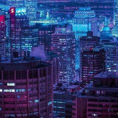 """#Montréal Nights / Midnight Memories / 00:29:21 / """"Il est tard. Je cherche mon autre chez-moi, et je prends un chemin que je ne connais pas"""" /  @m83music - Echoes of Mine.mp3"""