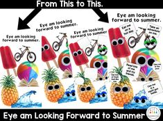 """The school year is quickly coming to an end and I'm super excited I found this googly eyes app to make a fun end of the year project. """"Eye"""" am looking forward to summer or A Day at the Beach. So download the Eyebomb it app and follow along with the step by step instructions …"""