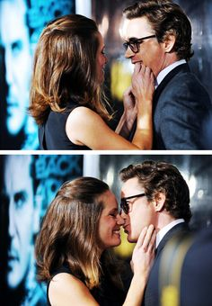 Robert Downey Jr. and Susan Downey - can you stop being so darned cute??