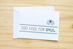 Too Cool for Shul Funny Cute Jewish Holidays / by sillyreggie