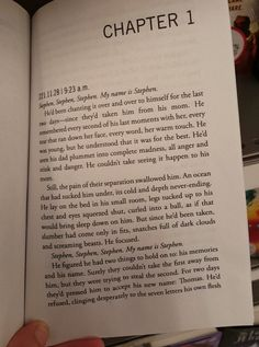 OHMYGOSH CHAPTER ONE OF THE FEVER CODE IM SOBBING