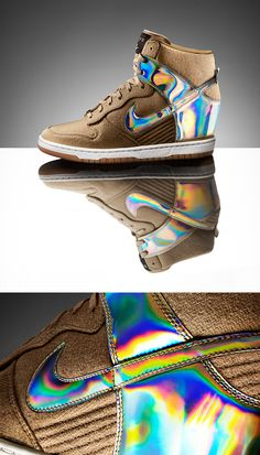 9db446c898a123 Futuristic design. Traditional craftsmanship. The Nike Dunk Sky Hi Tokyo  was made for this