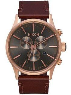 03b9a756063 Nixon Sentry Chrono Quartz A405-2001-00 Men s Watch Casual Watches