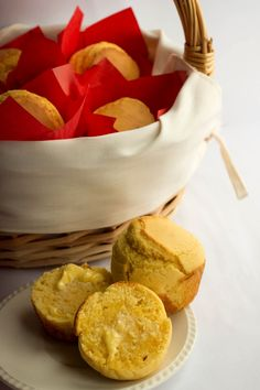 Classic Corn Muffins - Erren's Kitchen - This recipe for Classic Corn Muffins is just gorgeous!  They are crusty on the outside, and soft inside.