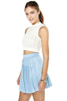 True Blue Tennis Skirt