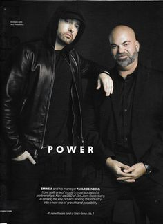 Billboard music magazine The Power 100 Eminem Sundance Film Festival Charts