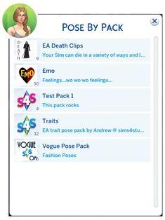 Pose Pack Player at Sims 4 Studio via Sims 4 Updates