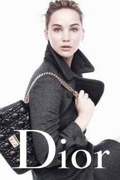 Jennifer Lawrence Miss Dior FW 2013