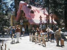 "What sweet memories of my childhood!Baby Boomers Tribute ""Wonderful World"" Santa's Village Lake Arrowhead Christmas & early Abandoned Amusement Parks, Abandoned Places, Lake Arrowhead California, Santa's Village, Noel Christmas, 1950s Christmas, Places In California, Santa Pictures, I Love La"