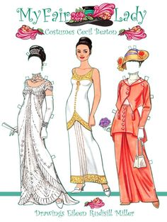 .My Fair Lady Paper Dolls