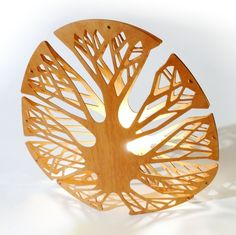 This lamp takes its form of the big leaves of the tropical plants, generating light effects through the patterns of their veins. Its form is gener. Big Leaves, Light Effect, Tropical Plants, Cnc, Flat, Patterns, Studio, Design, Leaves