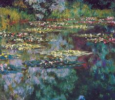 Claude Monet - The Water Lily Pond, 1904 -- Of course I could never forget Monet.