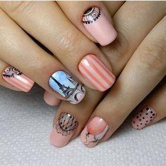 "91 Likes, 1 Comments - Дизайн ногтей - Новинки  (@i__like_my_nails) on Instagram: ""@irina_nails_schuchinsk #дизайнгельлаком#росписьнаногтях #росписьногтей…"""