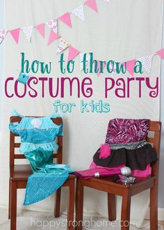 How to Throw a Costume Party for Kids: Now the birthday parties can be a lot of work, but a play date party is so much easier to throw. *Cute ideas!