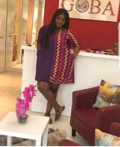 Online Hub For Fashion Beauty And Health: Pretty Cool Short Gown Dress For The Prett. Ankara Short Gown Dresses, Kente Dress, Short African Dresses, Ankara Dress Styles, Short Gowns, African Fashion Dresses, Ankara Fashion, African Wear Styles For Men, African Style