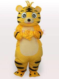 $284.29Smart Tiger Short Plush Adult #Mascot #Funny #Costume