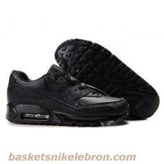 Nike Air Max Homme Cuir Noir