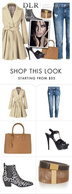 """""""DLRBOUTIQUE.COM"""" by beenabloss ❤ liked on Polyvore featuring H&M, Prada, Yves Saint Laurent and Isabel Marant"""