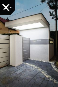 House Main Gates Design, Front Gate Design, Entrance Design, Roof Design, House Design, Front Gates, Entrance Gates, House Entrance, Compound Wall Design