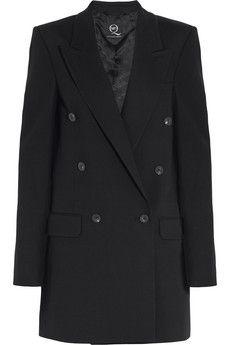 McQ Alexander McQueen Oversized twill blazer | NET-A-PORTER