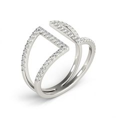 STYLE# 84724 - Fashion Rings - Diamond Fashion