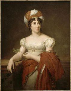 Madame deStaëlby Marie-Eléonore Godefroid after Gerard (Versailles)