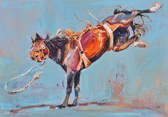 """Twisting Kick"" - Originals - All Artwork   Sophy Brown"
