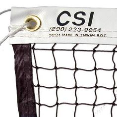 Knotted 21-ft Badminton Tournament Net w/Steel Cable by CSI Cannon Sports. $30.75. Made by CSI Cannon Sports, this 21-ft Badminton Net is the best tournament quality badminton net on the market. The net is made to tournament quality and uses 18 ply twisted braided nylon for durability. This CSI net uses a double stitched 1 1/2-inch nylon reinforced vinyl headband, with 1/2-inch side and bottom bindings made of wide nylon cloth tape. The top cable is 2 mm of vinyl coated braided S...