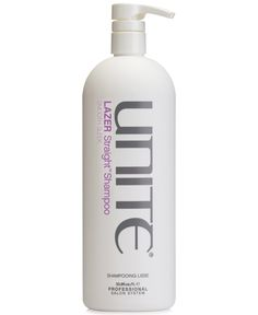 Unite Lazer Straight Shampoo, from Purebeauty Salon & Spa Wet Hair, Surf Shop, Shampoo And Conditioner, Mens Gift Sets, Baby Clothes Shops, Eyeshadow Makeup, Salons, Hair Care, Spa
