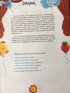 Tohum dramasi for kids Tohum dramasi Drama Activities, Preschool Activities, Learn Turkish Language, Islam For Kids, Dramatic Play Centers, Kids Songs, Science For Kids, Elementary Schools, Learning