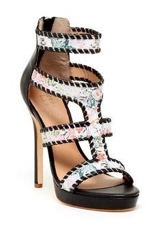 Nicole Miller | Nicole Miller Zembra High Heeled Sandal | Nordstrom Rack