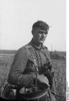 German soldier or under-officer from the  Division Großdeutschland. Russia 1942
