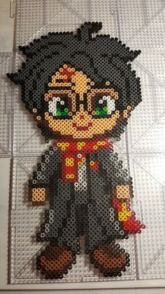 Beading 2020 – The Best Beading Ideas Are Here Easy Perler Bead Patterns, Melty Bead Patterns, Perler Bead Templates, Diy Perler Beads, Beading Patterns, Harry Potter Perler Beads, Harry Potter Crochet, Harry Potter Cross Stitch Pattern, Perler Bead Mario