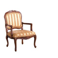 Furniture of America�Burnaby Antique Oak Accent Chair