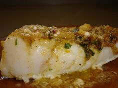 Baked Red Snapper with Garlic ~ http://www.grumpyshoneybunch.com