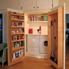 compact laundry room...I like it