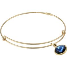 Alex and Ani Precious Dark Indigo Truth Charm Bangle Bracelet, Gold ($72) ❤ liked on Polyvore featuring jewelry, bracelets, accessories, gold, gold filled jewelry, gold bangles, charm bangle, bangle charm bracelet and bracelet bangle