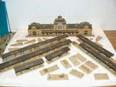 Model Railroad Pictures: N Scale Buildings and N Scale Scenery