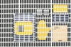Artek's abc Collection of graphic textiles features an iconic Alvar Aalto fabric made into modern curtains, kitchen towels, trays, coasters and trivets. Curtains Pictures, Alvar Aalto, Modern Curtains, Modern Kitchen Design, Siena, Surface Pattern, Modern Lighting, Scandinavian Design, Finland