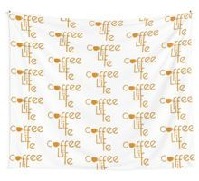 Coffee is Life Wall Tapestry