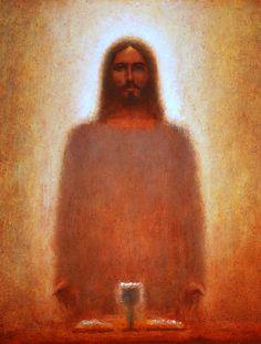 Jesus, The Last Supper Images Of Christ, Pictures Of Jesus Christ, Christian Images, Christian Art, Catholic Art, Religious Art, Jesus Christ Painting, Image Jesus, Jesus E Maria