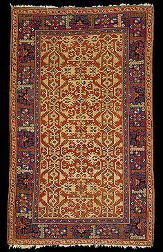 Lotto Carpet. 17th century. Saint Louis Art Museum 79 x 46 in. (200.7 x 116.8 cm)