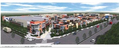 """An artist's rendering of the """"Central at Garden City,"""" a planned 14 and a half acre shopping centre in Richmond. City Council, Shopping Center, Walmart Shopping, Acre, Centre, News, Garden, Garten, Shopping Mall"""