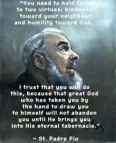 St. Padre Pio (05/25/1887 - 09/23/1968) a saint in our lifetime