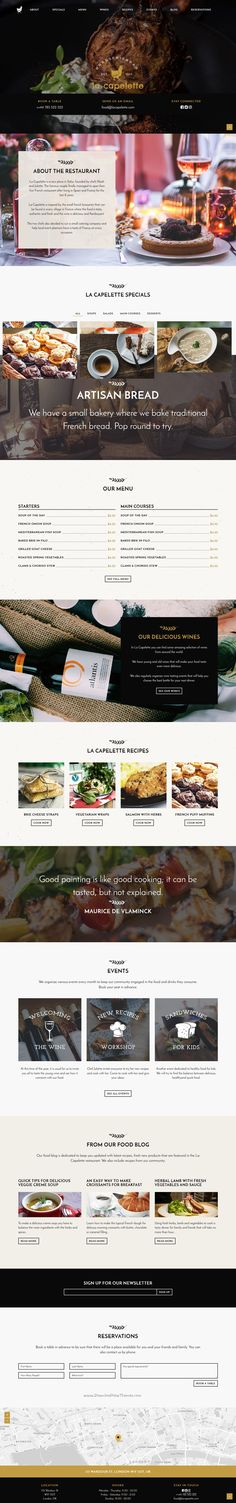 La Capelette is simple, yet stylish and unique #Bootstrap template for #French…